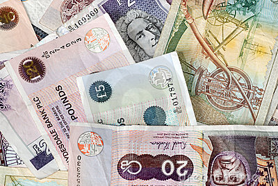 Uk Bank Notes various amounts 10 20 50 5