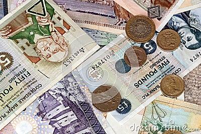 Uk Bank Notes various amounts
