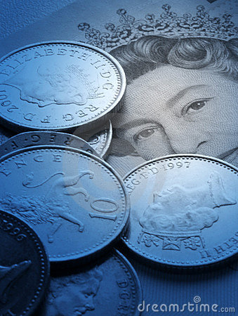 UK currency Editorial Stock Photo