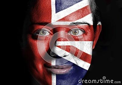 UK face flag
