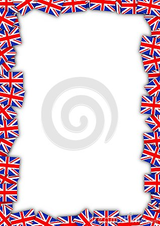 UK flag frame