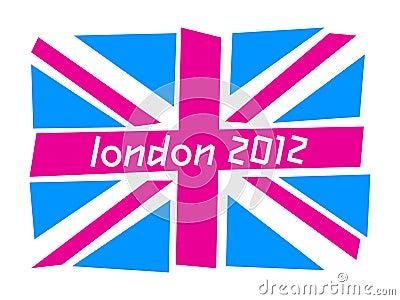 UK flag London 2012