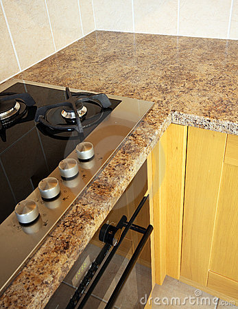 UK Kitchen Units with hob