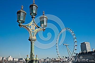 Uk London linia horyzontu Obraz Editorial