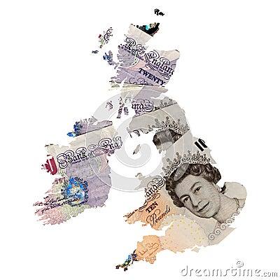 Free UK Map Stock Photography - 7395092