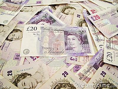 UK money Editorial Stock Photo