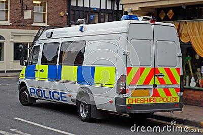 UK Police Van