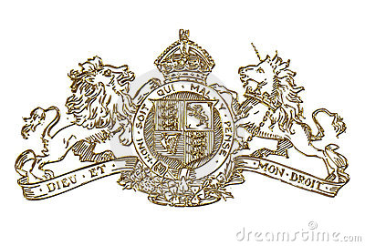 UK Royal Coat of Arms Symbol