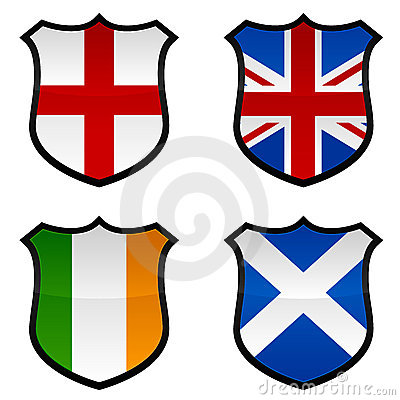 UK Shield Icons