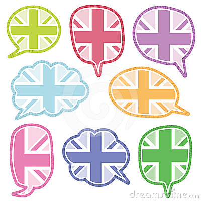 Uk speech bubbles