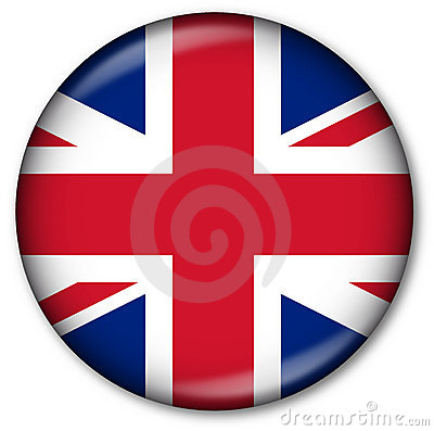 UK State Flag Button