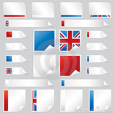 Uk stickers and tabs
