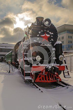 Free Ukraine, Kiev, January 24, 2019. Railway Museum. Royalty Free Stock Photography - 141576927