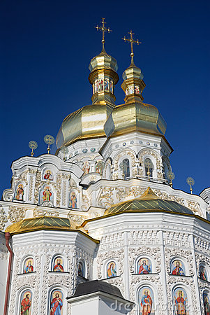 Free Ukraine. Kiev. Kievo-Pecherskaya Lavra. Cathedral Stock Photos - 13229523