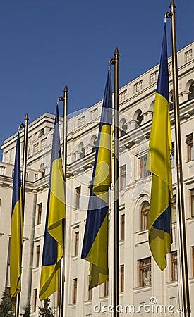 Ukraine national flag