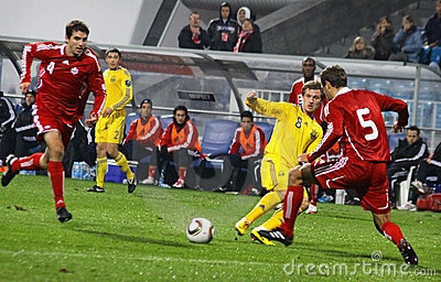 Ukraine vs Canada Editorial Stock Image