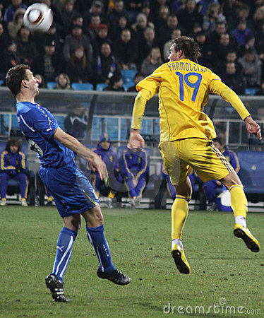 Ukraine vs Italy Editorial Stock Photo