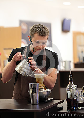 Ukrainian Coffee In Good Spirits Championship Editorial Stock Image