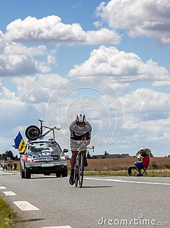 The Ukrainian Cyclist Popovych Yaroslav Editorial Stock Photo