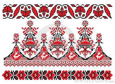 Ukrainian embroider