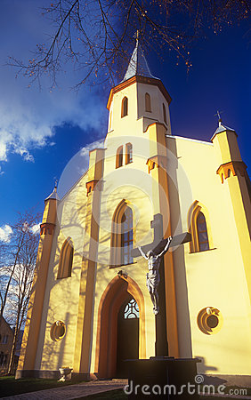 Free Ukrainian Greek Catholic Church. Stock Photography - 24695002