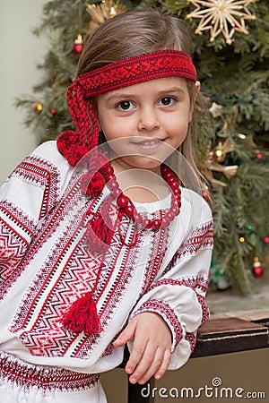 Ukrainian little girl