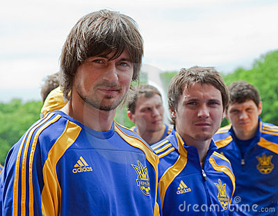 Ukrainian National football team Editorial Photo