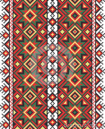 Ukrainian national ornament