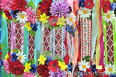 Ukrainian national ornament (pattern)