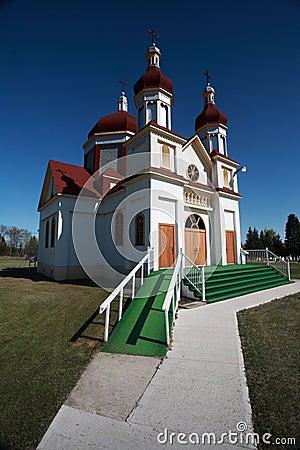 Free Ukrainian Orthodox Church In Riverton Manitoba Royalty Free Stock Photos - 15077878