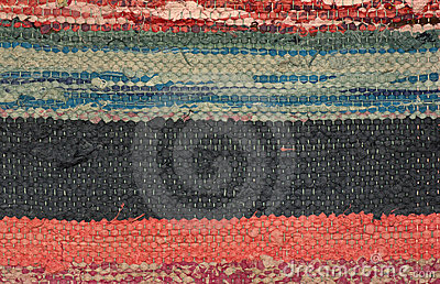 Ukrainian variegated woven linen