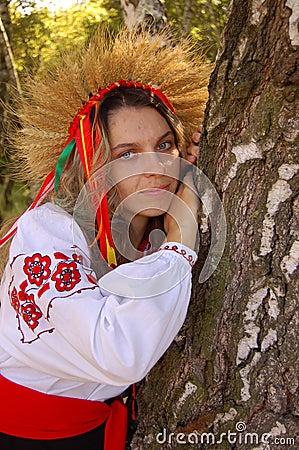 Ukrainian woman