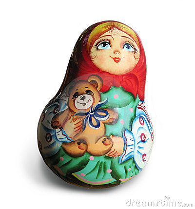 Free Ukranian Handpainted Doll Stock Photos - 491483