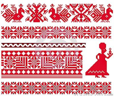 Ukranian pattern