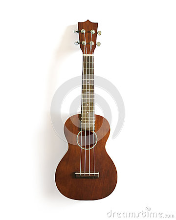 Free Ukulele On White Isolated. Stock Images - 27331224