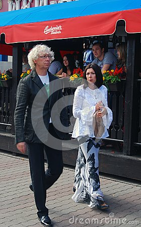 Ukupnik at Moscow Film Festival Editorial Stock Image