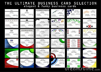 The Ultimate Business Card Selection