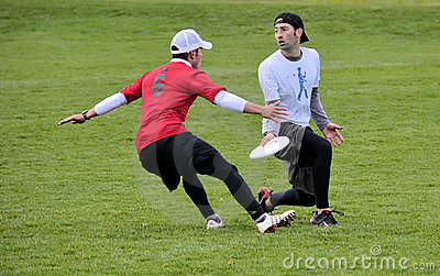 Ultimate Frisbee Editorial Image