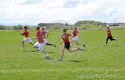 Ultimate Frisbee Battle Editorial Image