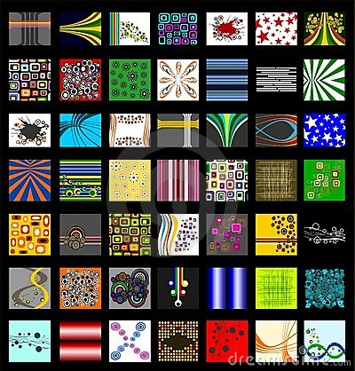 The Ultimate Retro Pattern Background Set