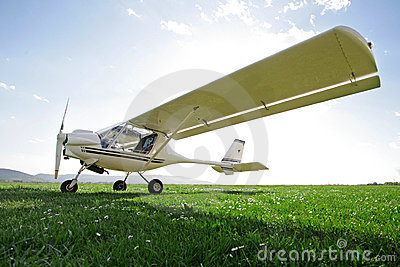 Ultra-light aircraft