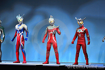 Ultraman Zero Editorial Image