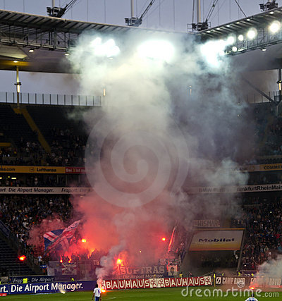 Ultras and Hooligans Editorial Stock Photo