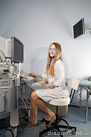 Ultrasound för doktorsutrustningutredning