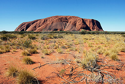 Uluru Editorial Stock Photo