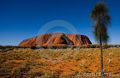 Uluru - Ayers rock Editorial Stock Image