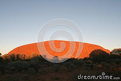 Uluru - Ayers Rock Editorial Stock Photo
