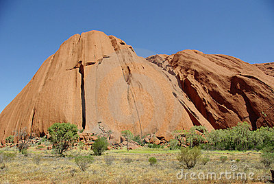 Uluru (Ayers Rock), Australia Editorial Stock Image