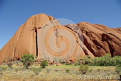Uluru (Ayers Rock), Australia Editorial Stock Image