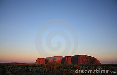 Uluru (Ayers Rock) and Kata Tjuta, Australia Editorial Stock Photo